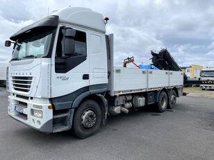 IVECO Stralis 420 6x2 - HIAB XS 166 D-4 PRO! camión caja abierta