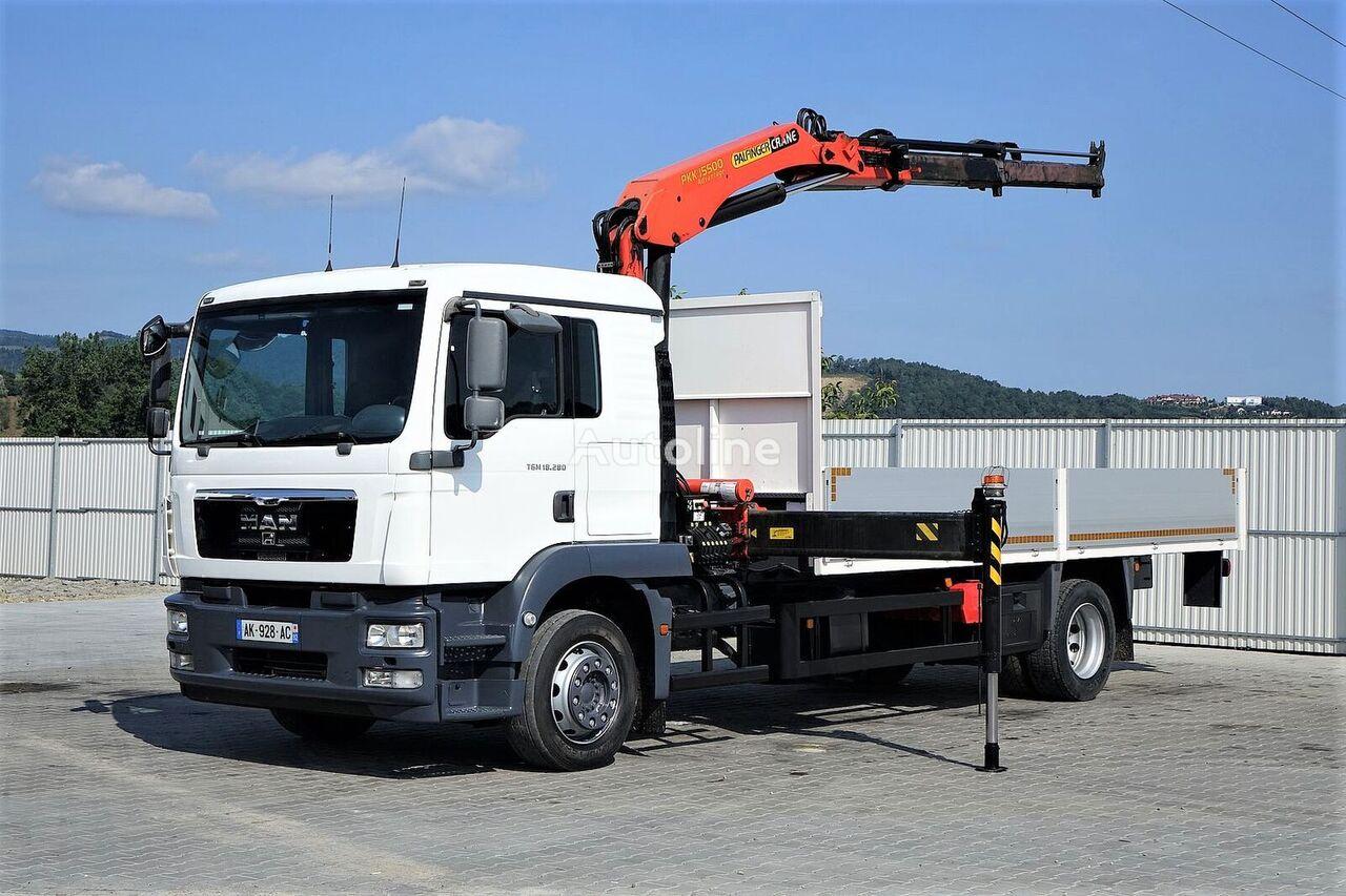 MAN TGM 18 camión caja abierta
