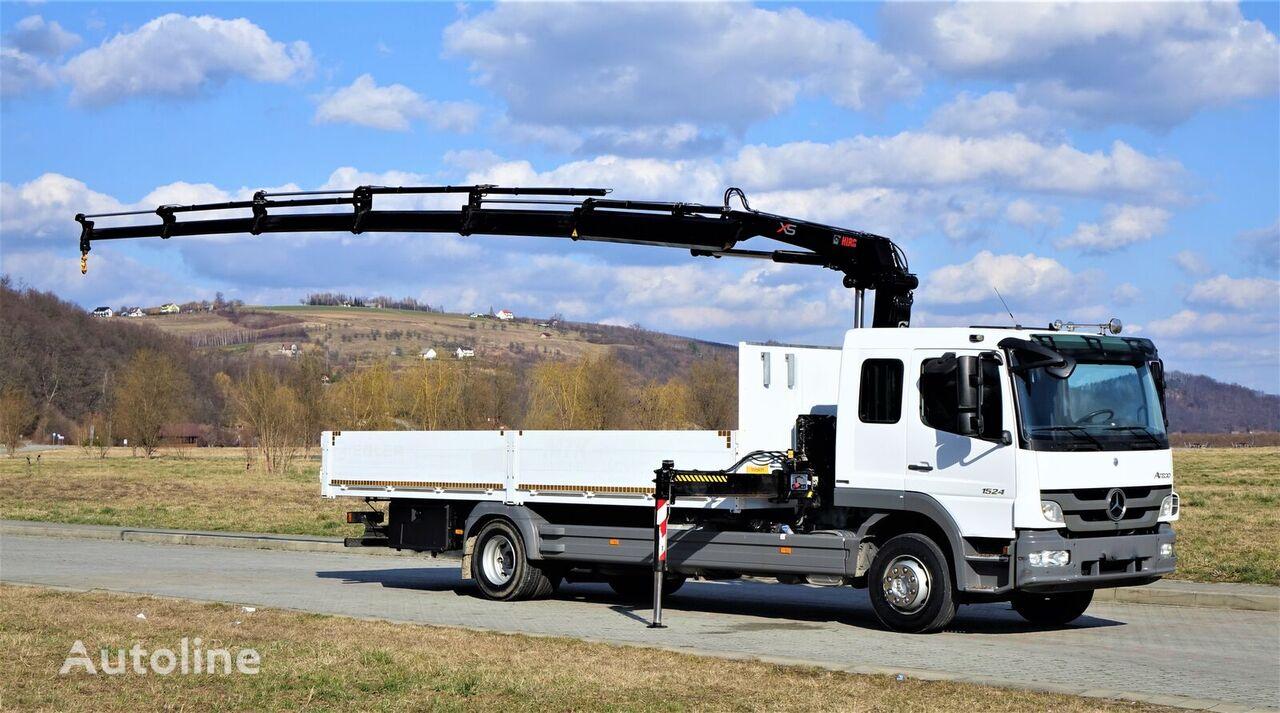 MERCEDES-BENZ ATEGO 1524 camión caja abierta