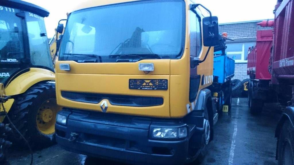 RENAULT PREMIUM 210 camión caja abierta
