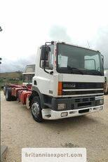 DAF CF85 380 left hand drive manual pump 6X2 26 ton  camión chasis