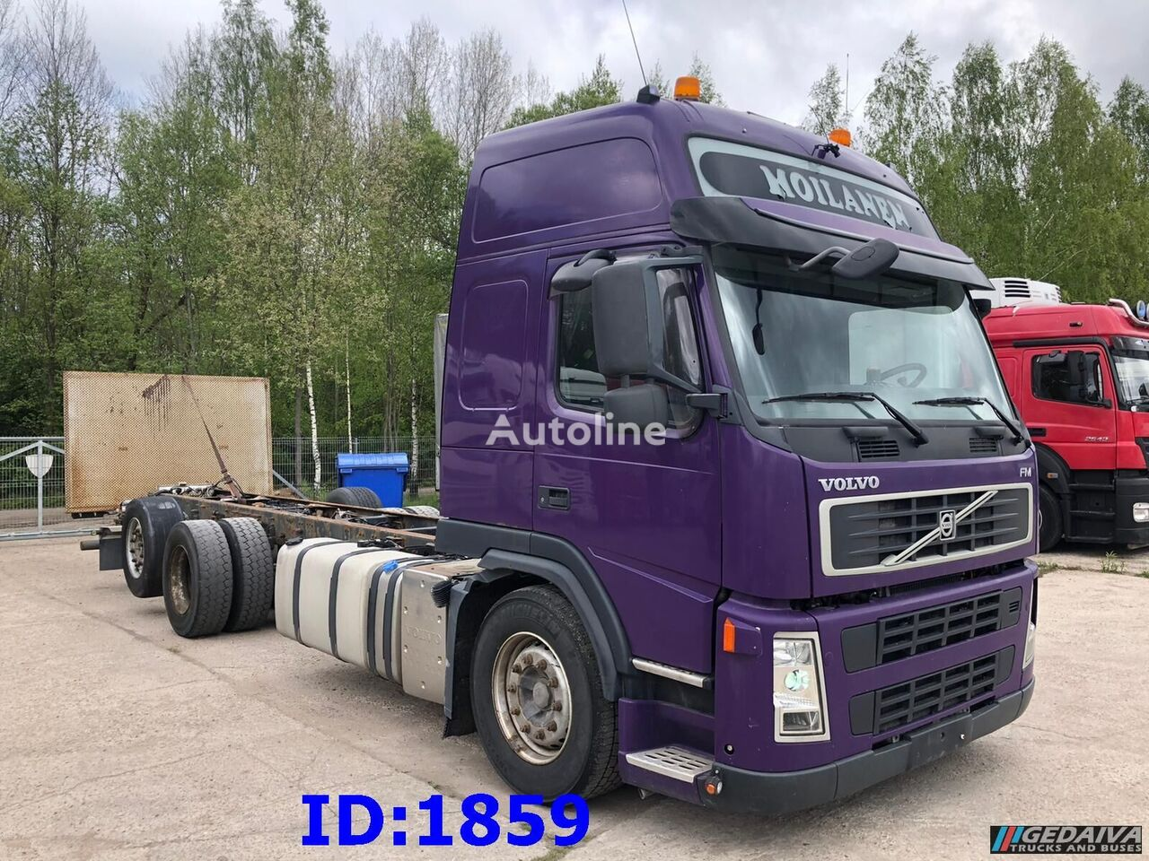VOLVO FM 450 6x2 Euro5 camión chasis