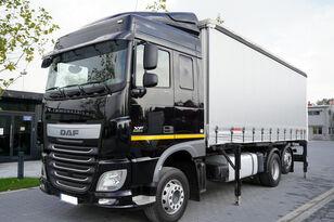 DAF XF460 / 6x2 / Euro 6 / Kogel BDF curtain camión con lona corredera