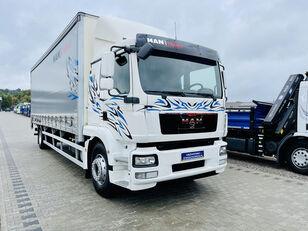 MAN TGM 18.250 , 21EP ADR TGL TGS TGX E5 oryginał 319000km , winda z camión con lona corredera