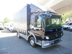MERCEDES-BENZ 924 camión con lona corredera
