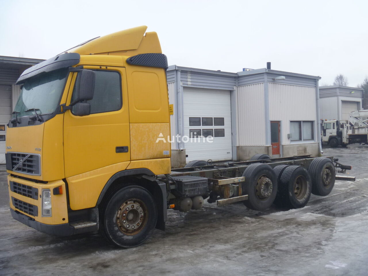 VOLVO FH camión de contenedores