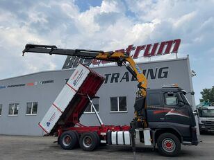 VOLVO FH 520 6x4 Crane EFFER 305 / Kipper camión de contenedores