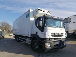 IVECO STRALIS 260S36 6X2 CELLA FRIGO 9 METRI, THERMOKING, PEDANA 2 TON camión frigorífico