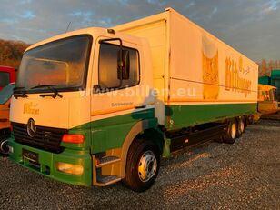 MERCEDES-BENZ 2523 6x2  Lenkachse Schwenkwand Schaltgetriebe camión furgón