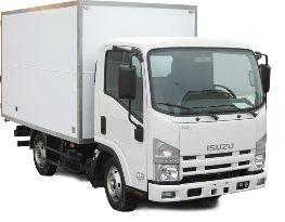 camión furgón ISUZU NMR-85L