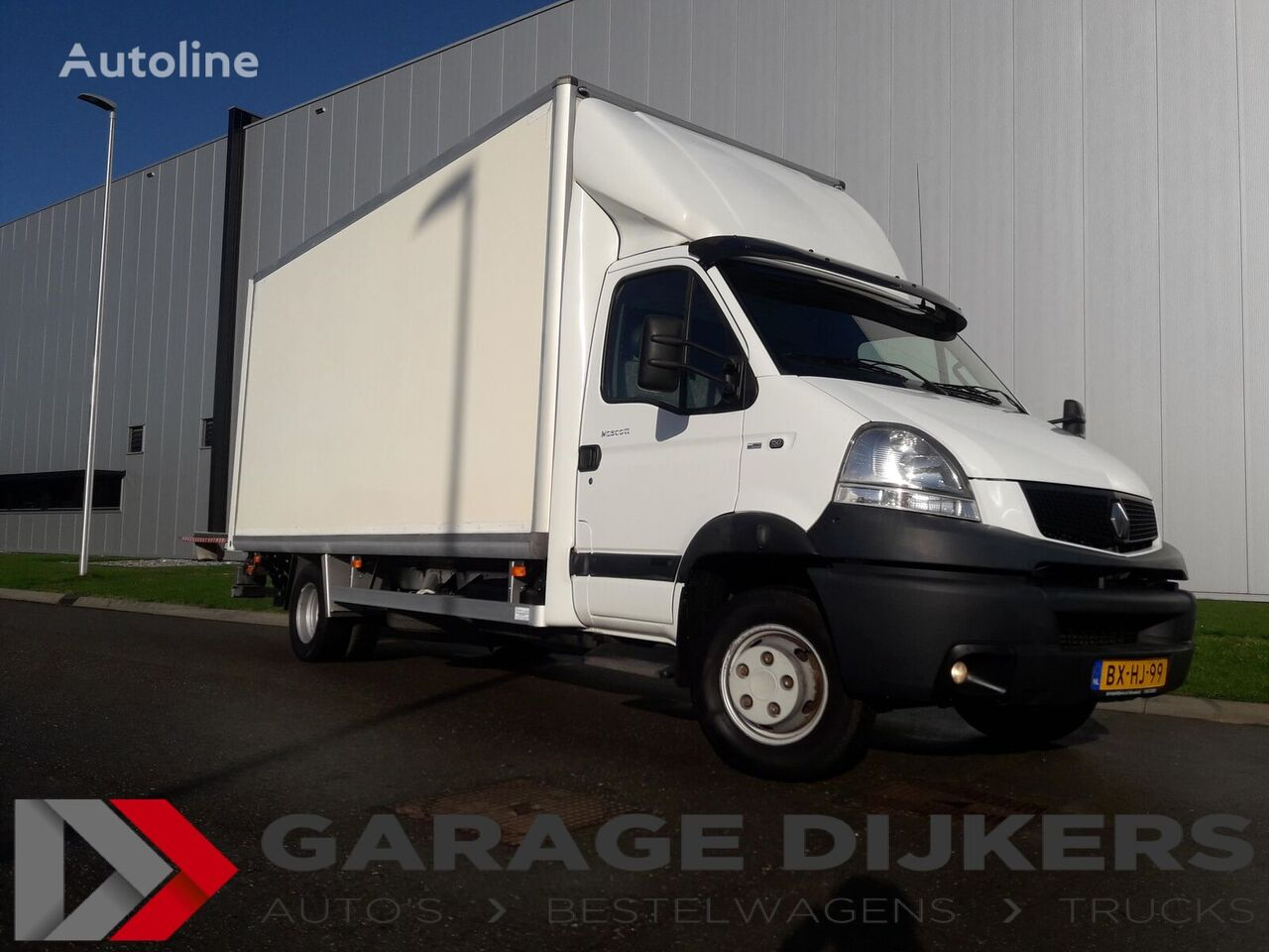 RENAULT Mascott 150-65 Bak met klep 1000 Kg LKW Zulassung camión furgón