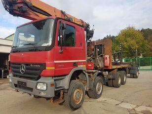 MERCEDES-BENZ ACTROS 4141 8x8 EPSILON 250L + telescopictrailer camión maderero
