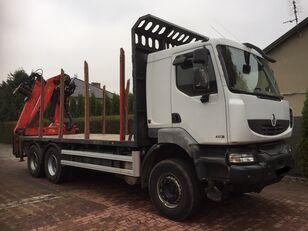 RENAULT Kerax 450 DXI camión maderero