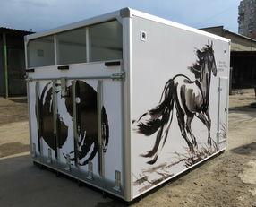 ИСТОК camión para caballos nuevo