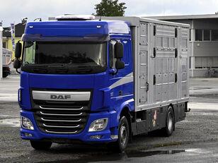 DAF XF 510 FA  + Finkl Aufbau camión para transporte de ganado