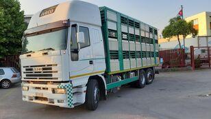 IVECO Eurostar 240E42 camión para transporte de ganado