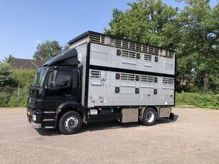 MERCEDES-BENZ Axor Pezzaioli 1/2 stock Veewagen Hefdak camión para transporte de ganado