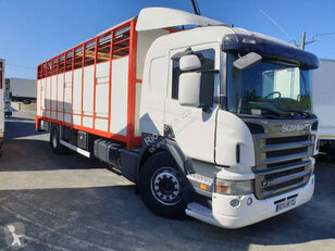 SCANIA P camión para transporte de ganado