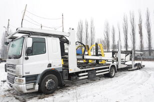 DAF CF 75 360 , E5 , 4x2 ,MEGA , LOHR , retarder , sleep cab  camión portacoches + remolque portacoches