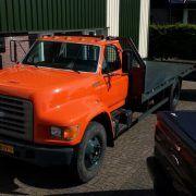 FORD F800 camión portacoches