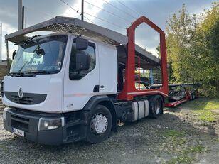 RENAULT Premium 460 EEV camión portacoches + remolque portacoches