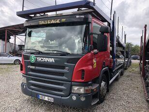 SCANIA P400 camión portacoches