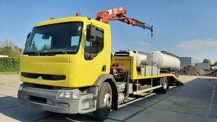 RENAULT Premium 250.19 Crane Winch camión portacoches