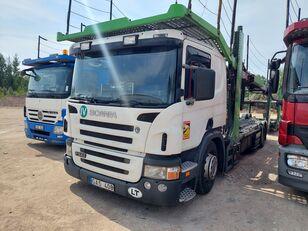 SCANIA P340  camión portacoches