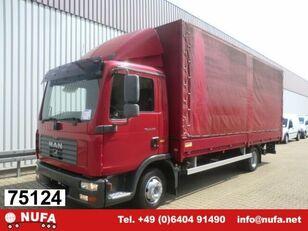 MAN TGL 8.210 BL camión toldo