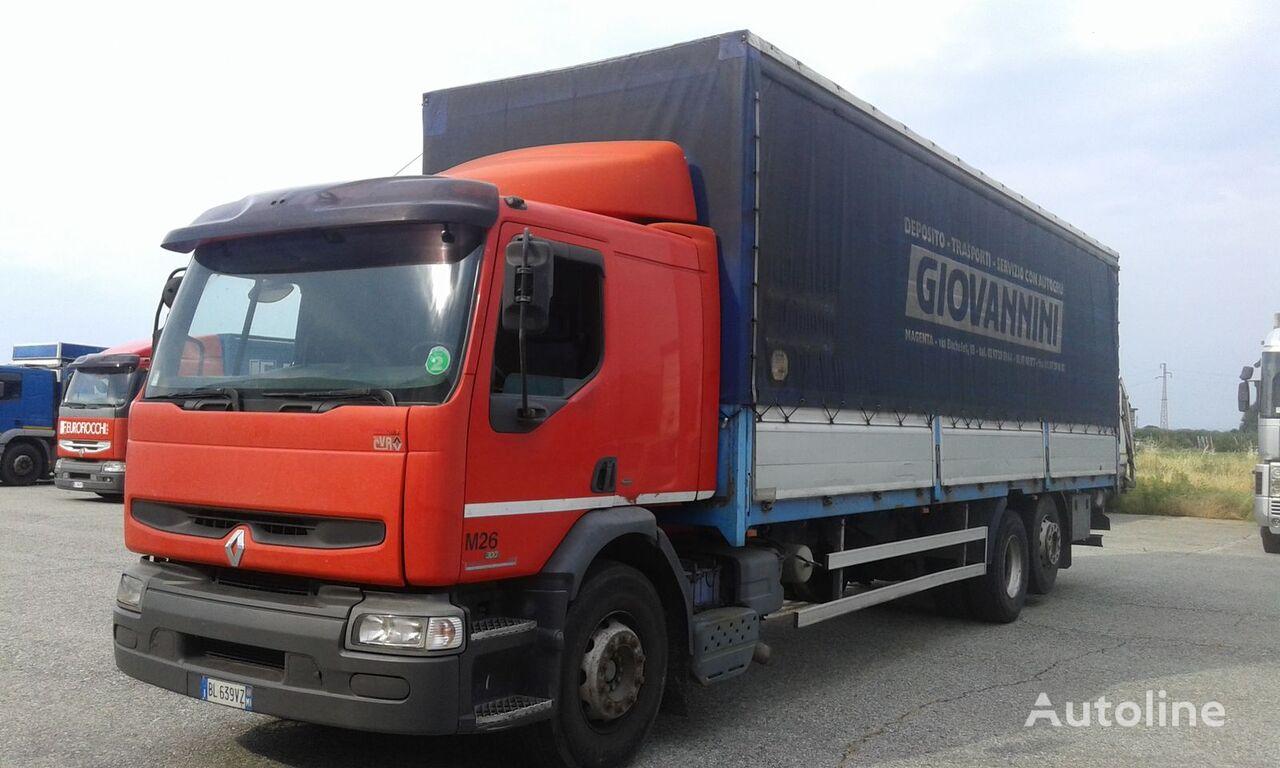 camión toldo RENAULT PREMIUM 300