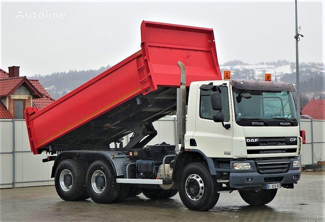 DAF CF 75.360 +Bordmatic 5,20m Top Zustand! camión volquete