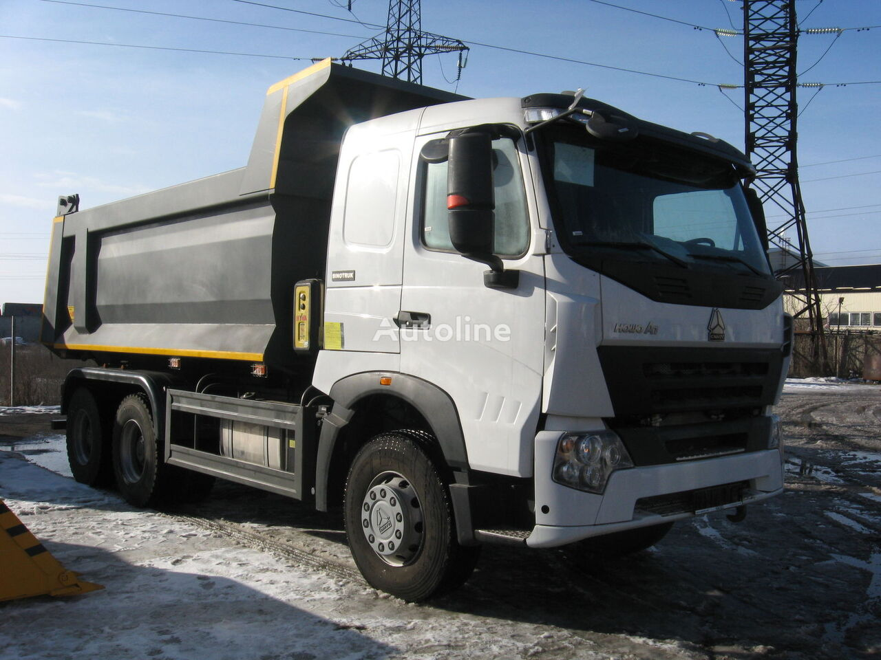 camión volquete HOWO A7