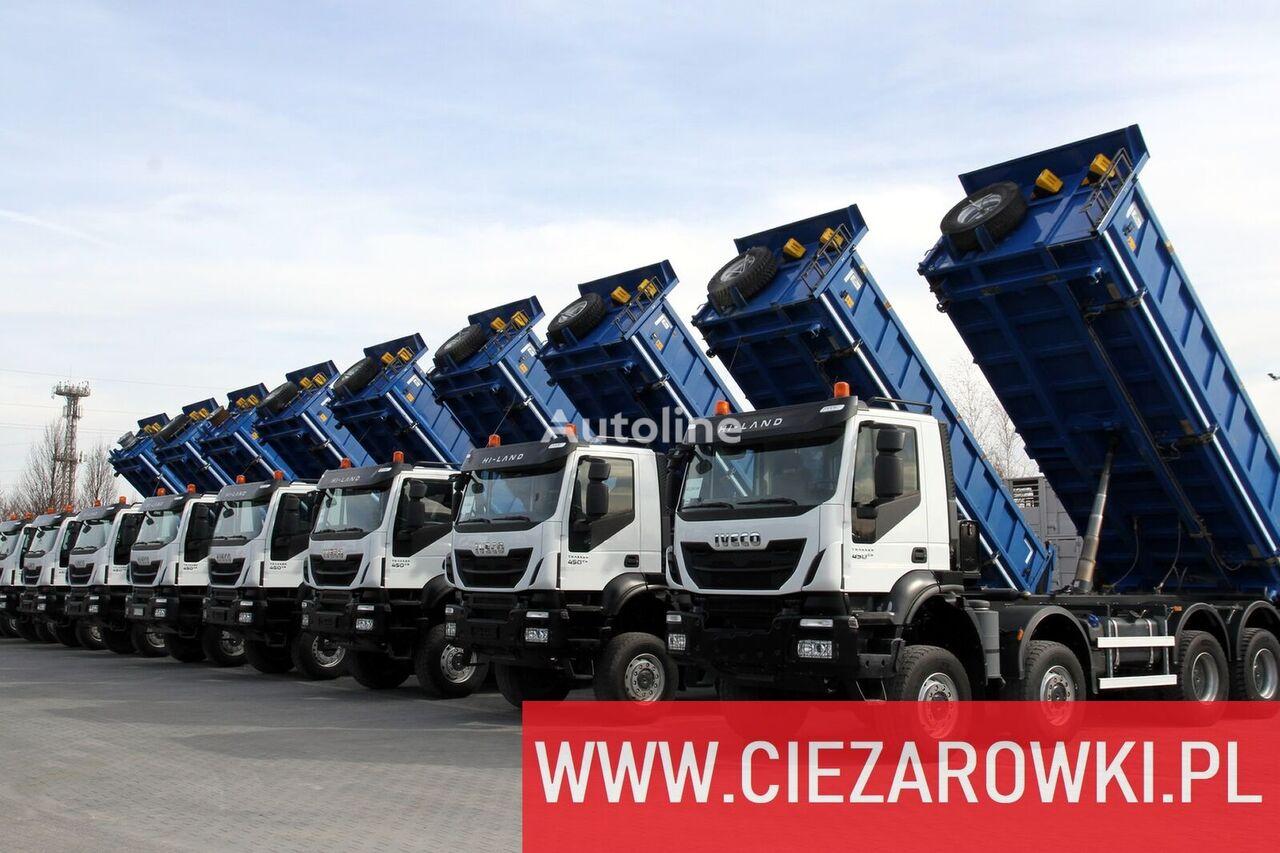 IVECO 8x8 / e6 / TRAKKER  / retarder / hydraul. board sides / / ful camión volquete