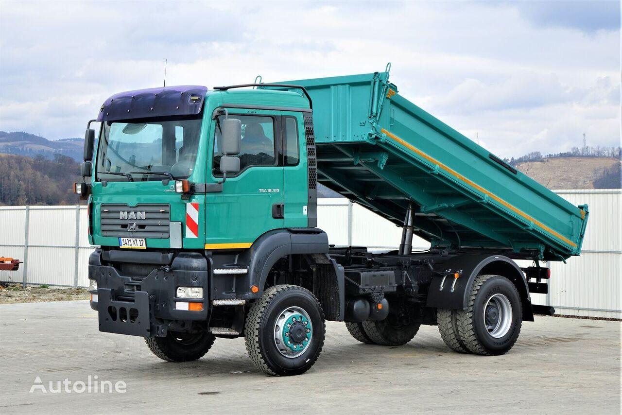 MAN TGA 18.310 Kipper 4,40 m *4x4 * camión volquete