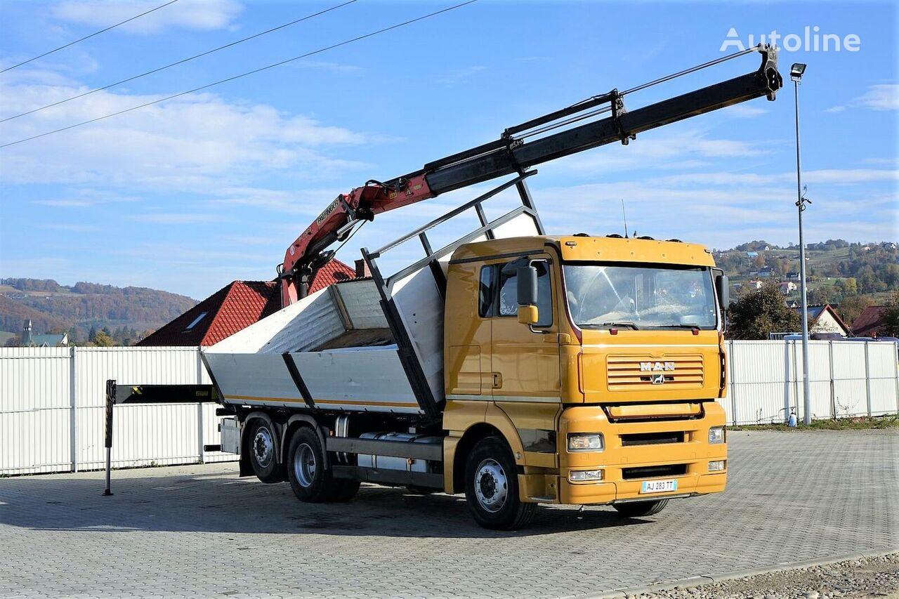 MAN TGA 26.460 camión volquete