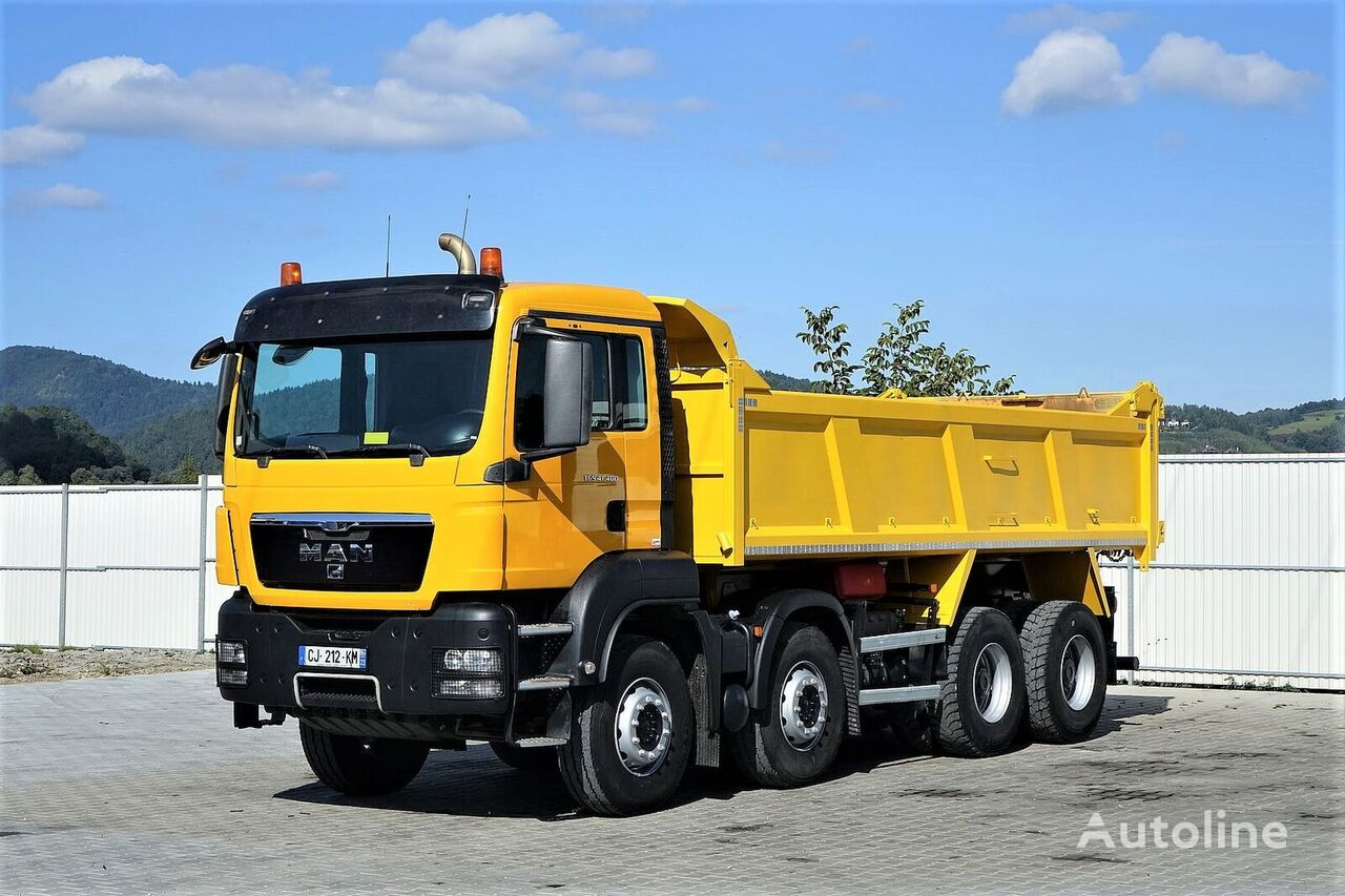 MAN TGS 41.400 Kipper  camión volquete