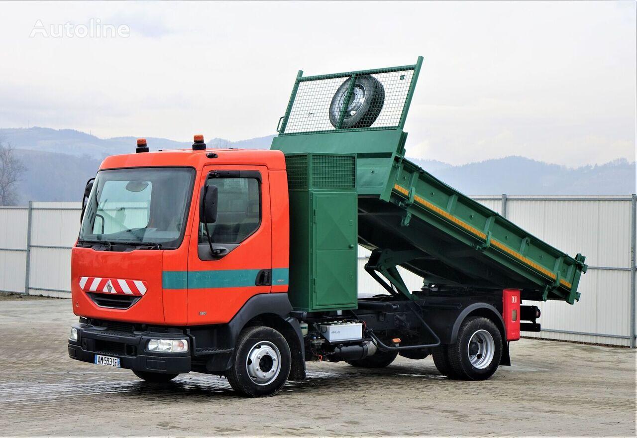 RENAULT  MIDLUM 180 Kipper 3,50 m Topzustand! camión volquete