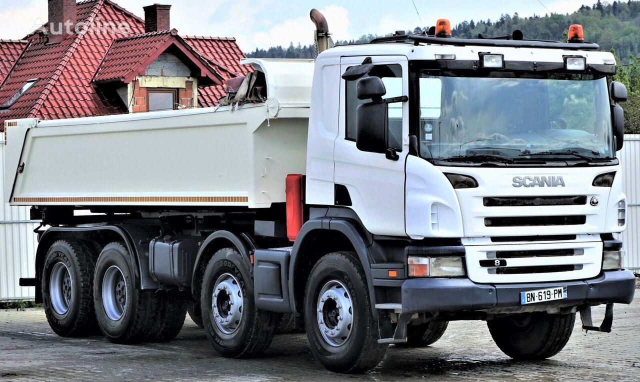 SCANIA P380 Kipper 5,70m + Bordmatic *8x4 Topzustand! camión volquete