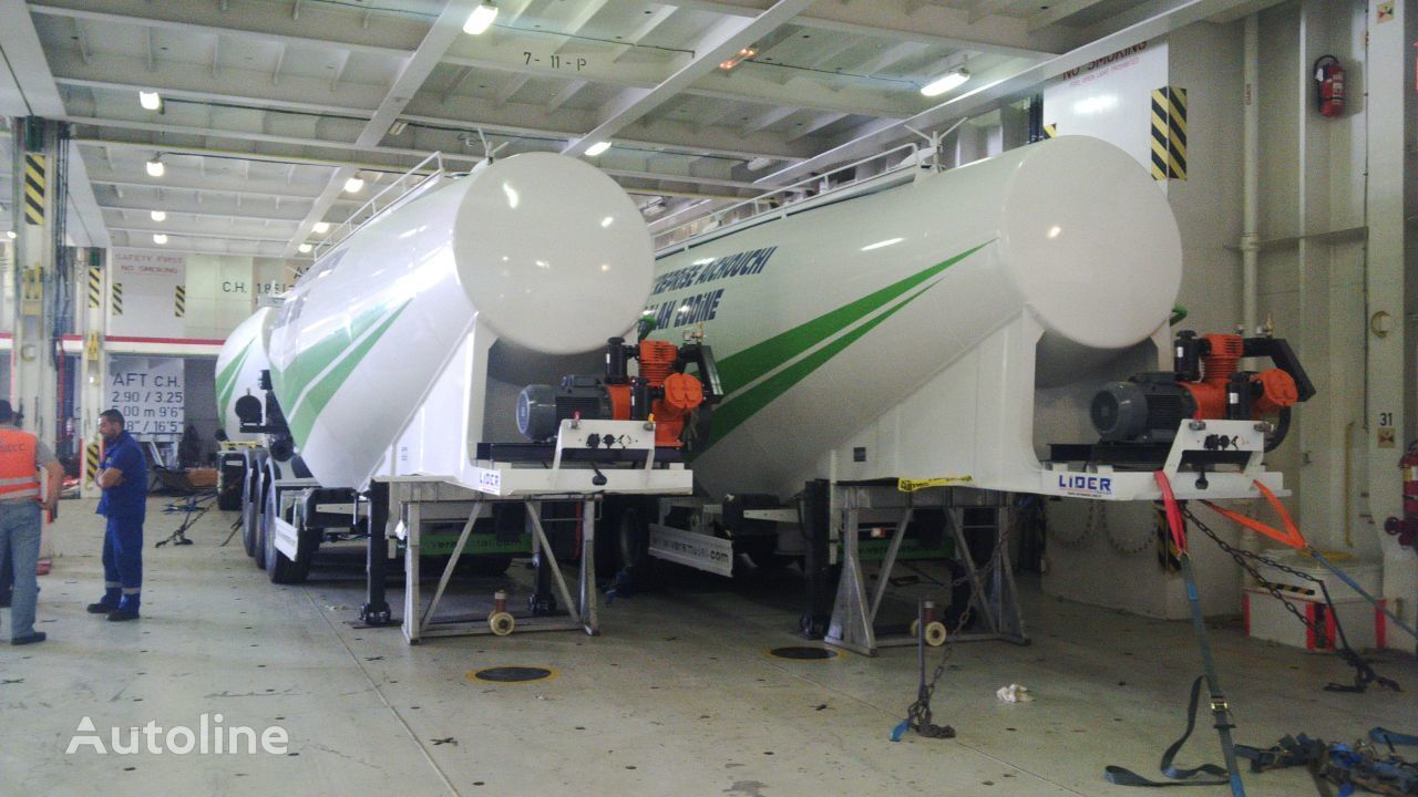 cisterna de cemento LIDER 2019 MODELS YEAR NEW (MANUFACTURER COMPANY LIDER TRAILER & TANKE nueva