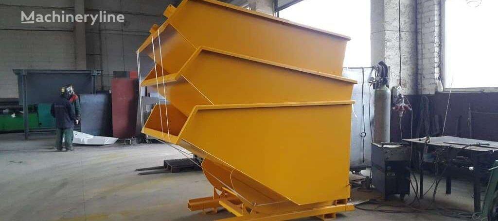 HNH Engineering Išverčiamas konteineris contenedor de obra nuevo