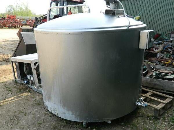 tanque de leche Wedholms DF825AD