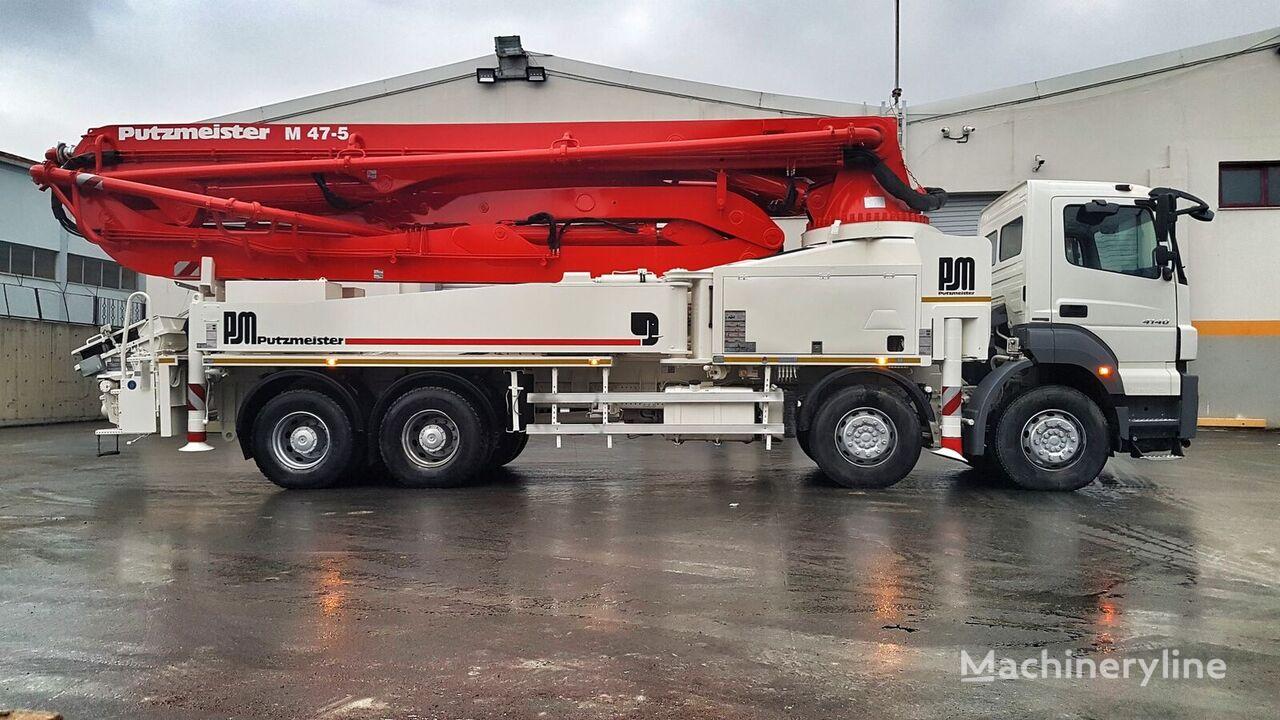MERCEDES-BENZ Axor 4140 8x4 - Putzmeister 47 Meter  bomba de hormigón