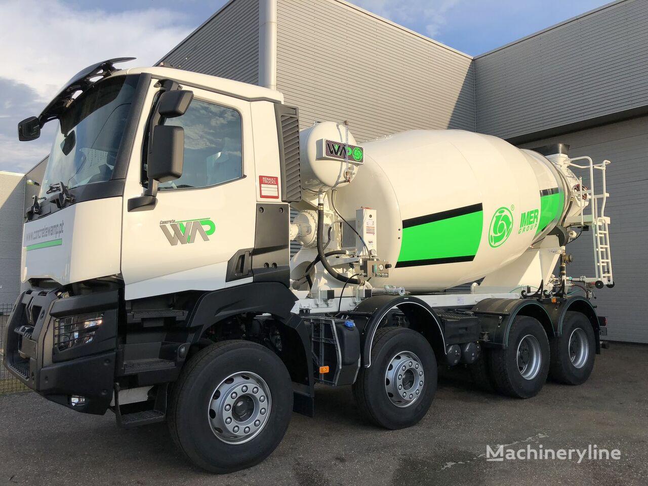 RENAULT K380 camión hormigonera nueva