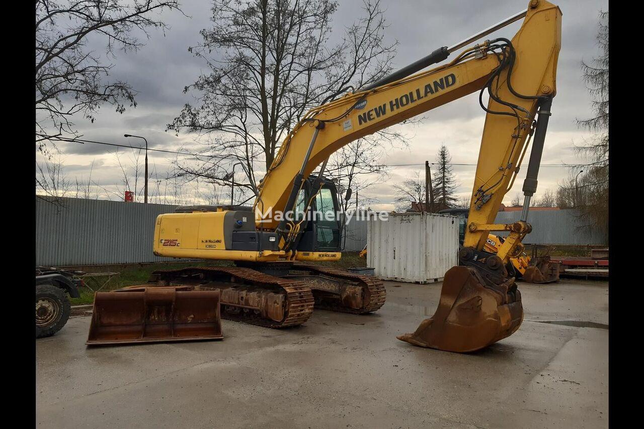 NEW HOLLAND E215 C excavadora de orugas