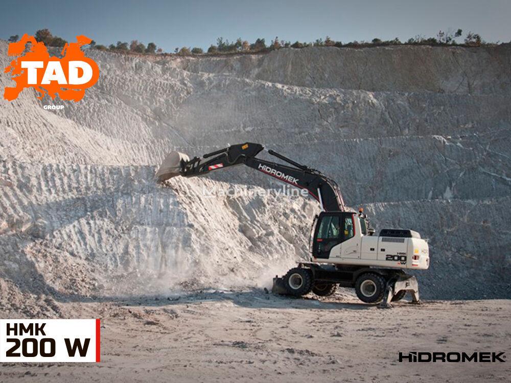 HIDROMEK  HMK 200W excavadora de ruedas nueva