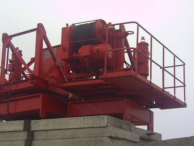Venta de gr as torres potain pingon gp 4010 con base for Cabina con avvolgente portico