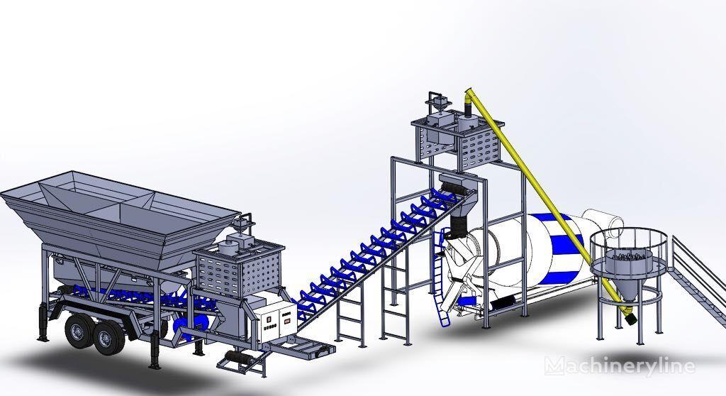 CONMACH MobKing-30 planta de hormigón nueva