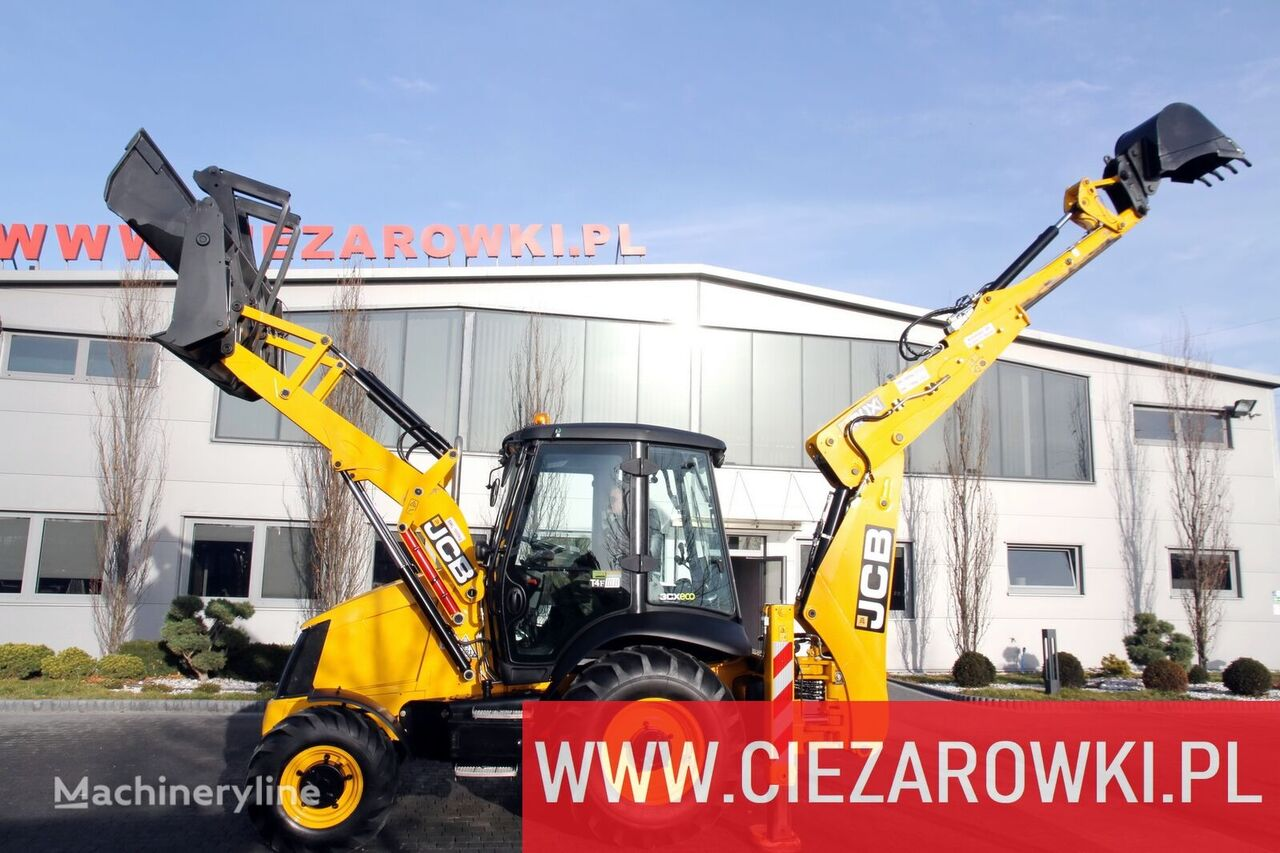 JCB 3CX / 2018 / telescopic / bucket 4in1 / 1 owner  retroexcavadora