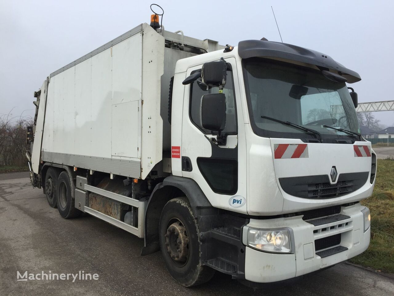 camión de basura RENAULT Premium CNG