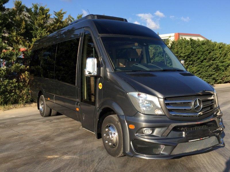 furgoneta de pasajeros MERCEDES-BENZ SPRINTER 519 CDi XXL PANORAMA nueva